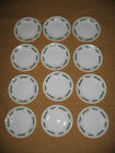 12 Corelle Holly Days Black Vein Plates 6 3/4