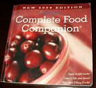 Complete Food Companion 2009 Edition Weight Watchers Paperback