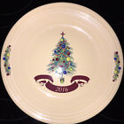 FIESTA Dillards 2016 Tree Christmas Dinner Plate 10.5