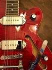Epiphone Archtop WildKat Electric Guitar Wine Red With Bigsby!
