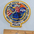 Cape Canaveral Security Police Iron on Vintage Patch NASA Kennedy Space Center