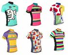 KID Child Cycling Jersey Retro Road Pro Clothing MTB Short Sleeve Bike Riding