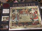Velvet Holiday Silhouette Puzzle Christmas Spirit By Susan Winget Complete