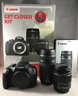 Canon EOS 1200D 180MP DSLR CameraKit w EF S 18 55mm and EF S 75 300mm