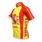 SPAIN Team Cycling Jersey Retro Road Pro Clothing MTB Short Sleeve Riding ESPANA