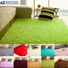 Comfy Fluffy Rugs Anti Skid Area Rug Dining Room Carpet Home Bedroom Floor Mat