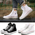 Women Lady ALL STARs Chuck Taylor Ox High top shoes Canvas Sneakers white Black
