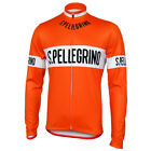 SPELLEGRINO Cycling Jersey Retro Road Pro Clothing MTB Long Sleeve Bike Riding