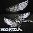 Motorcycle/Bike Fairing/Fender Logo Decal Sticker Honda Wings