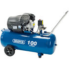 Draper 100L 230V 3.0hp (2.2kW) V-Twin Air Compressor 65396