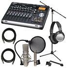 TASCAM DP-03SD Digital Portastudio STUDIO ESSENTIALS BUNDLE