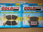 HONDA NX 4 FALCON (2004-2005) NX4 > SINTERED FRONT & REAR BRAKE PADS *GOLDFREN*