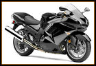 STY Injection Molding Fairing Kit For Kawasaki 2006-2011 ZZR1400 ZX-14R Black BK