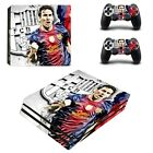 Lionel Messi PS4 Pro Skin Sticker For Sny Playtation 4 Pro console+2 controllers