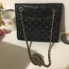 50 Off New Tory Burch Convertible Shoulder Bag Black Genuine Leather