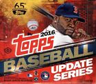 2016 Topps Update Series Baseball Factory Sealed Jumbo Box