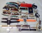 Large lot over 3 lbs Watches for parts or repair assorted brands