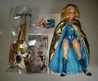 VINTAGE SAPHIRE GOLDEN GIRL ACTION FIGURE WITH ACCESSORIES SHE RA MOTU