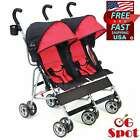 Double Twin Side by Side Stroller Travel System Infant Toddler Baby Dual Seat