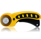 Rotary Cutter Improved Titanium Coated Blade Replaceable 45mm Blades Deluxe