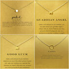 Princess Necklace 16 Inch Good Luck Cable Chain Gold New 4 Styles Free Shipping