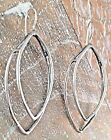 Silpada .925 Sterling Silver Leaf Shaped Earrings French Wires W1879 RETIRED