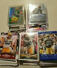 217 GREEN BAY PACKERS NFL Sport Card Lot Auto Inserts Base RCs Aaron Rodgers