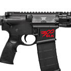 AR15 300 Blackout BLK Spartan Style Magwell Lower Decal Sticker 300 AAC