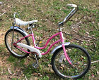 Girl's Schwinn Pink Low Rider Cruiser Muscle Bicycle FAIR LADY? Banana Seat 1981