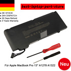 "Akku Für A-pple 13"" 2009 - 2010 Apple Macbook Pro A1278 Unibody A1322 020-6547-A"
