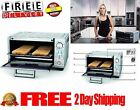 Electric Convection Toaster Oven Kitchen Food Stainless Steel Non-Stick 1800W