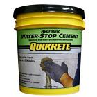 Quikrete 20lb Hydraulic Water Stop Cement Ready Mix Concrete Leak Repair Sealer