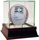 Cubs Expos Great Andre Dawson Signed Hall Of Fame Logo Baseball Steiner