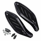 Black Side Wing Windshield Airs Deflector For Harley Touring CVO Ultra Classic