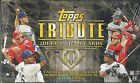 2014 Topps Tribute Baseball Factory Sealed 4 Box Hobby Case -16 Autos + 8 Relics