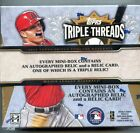2014 Topps Triple Threads Baseball Factory Sealed 18 Box Hobby Case