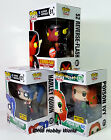 FUNKO POP New 52 Reverse Flash Harley Quinn & Poison Ivy Exclusives DC HEROES