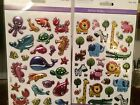 Forever in Time Craft Stickers Foil Puffy Stickers Sea Creatures and Animals