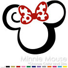 TRIBAL MINNIE MOUSE TWO COLOR TATTOO MICKEY DISNEY VINYL DECAL STICKER MM 11