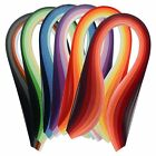 Paper Quilling Set 600 Strips 30 Colors 39cm Length 3mm Width Available