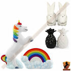 Novelty Unicorn Rainbow Collectable Pineapple Rabbit Salt and Pepper Set Gift