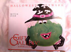Fitz & Floyd 2003 Gift Gallery Halloween Witch Candy Dish About 8x7