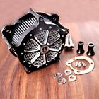 Shallowcut Venturi Air Cleaner Intake Filter System For Harley Softail 96 13