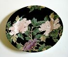 Fitz And Floyd Cloisonne Peony 7.5 Inch Salad or Dessert Plate 1979