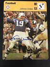 Johnny Unitas Cards, Rookie Card and Autographed Memorabilia Guide 37