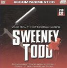 NEW Songs from Sweeney Todd (Accompaniment 2-CD Set) (Audio CD)