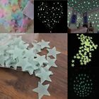 100pcs Home Wall Night Glow Space Star Stickers Ceiling Decal Baby Room Decor