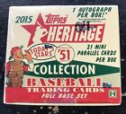 2015 TOPPS HERITAGE '51 COLLECTION SEALED HOBBY BOX AUCTION #2