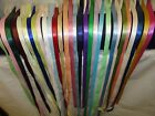 Charmed Assorted colors of 3 8 Satin Ribbon 21 yards