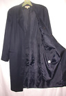Brooks Brothers Spring Coat Ladies' Women's Size 8 Navy Blue 100% Wool